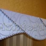 Пришиваем шторную ленту или липучку к бандо без строчек по лицевой стороне изделия