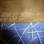 Пришиваем декоративную кайму запошивочным швом