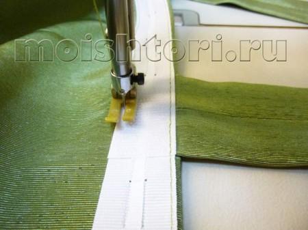 Как сшить шторы на петлях своими руками